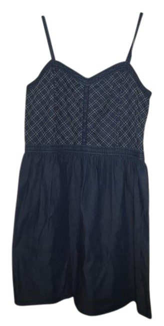 Preload https://img-static.tradesy.com/item/17244739/blue-denim-knee-length-short-casual-dress-size-16-xl-plus-0x-0-1-650-650.jpg