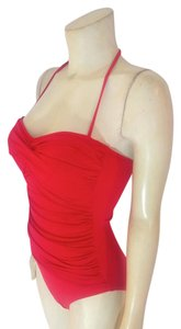 La Blanca New La Blanca One Piece Swim Suit Red Tags Attached P2117