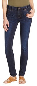 Free People Straight Leg Jeans-Dark Rinse
