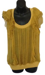 Just Cavalli Top Greenish dark yellow