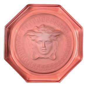 Versace Versace Medusa Rosenthal Lumiere Crystal Coaster New In Box