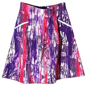 Piazza Sempione Skirt Purple, Pink, Multicolor