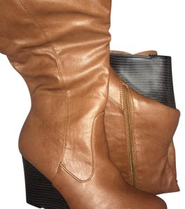 ShoeDazzle Brown Boots