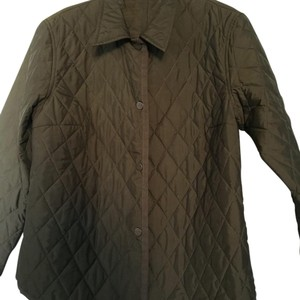 Max Mara Quilted olive green Jacket