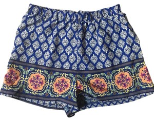 Mini/Short Shorts Blue/orange