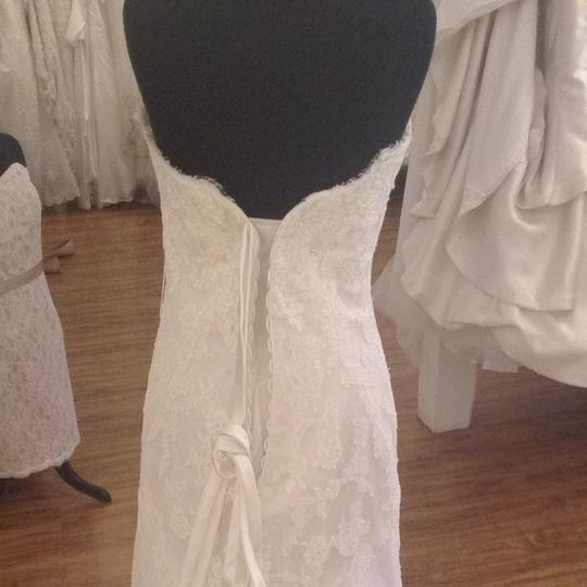 Maggie Sottero Ivory Wedding Dress Size 10 (M)