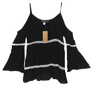 Francesca's Top Blk