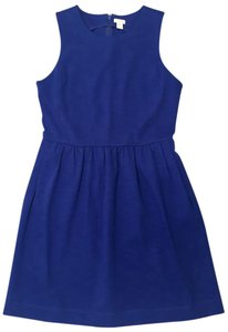 Royal Blue Sleeveless Maxi Dress by J.Crew A-line Comfortable Pleated