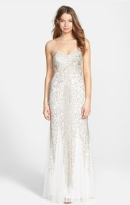 Joanna Chen White Joanna Chen New York Sequin Beaded Mesh Dress Dress