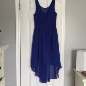 Alfred Angelo Royal Blue Dress