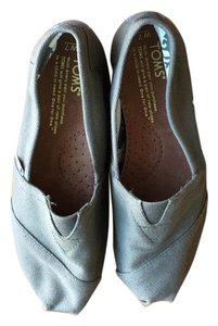 TOMS Canvas Olive Flats