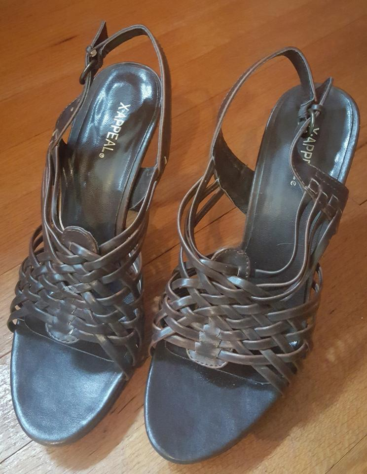 33f4785c0852 Xappeal Brown Na Sandals Size US 7.5 - Tradesy