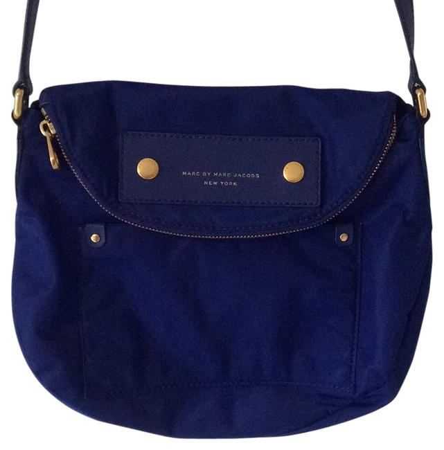 Item - New York Royal Blue Nylon Cross Body Bag