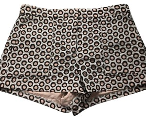J.Crew Mini/Short Shorts Black, pink and white