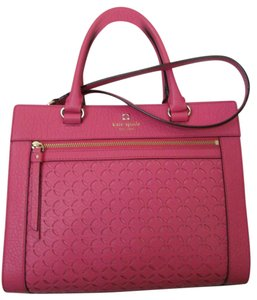 Kate Spade New With Tag Satchel in caberetpink (688)