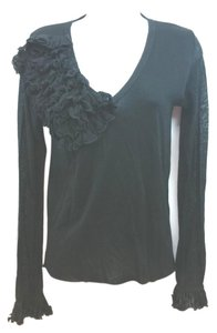 Anne Fontaine Black Knit Top