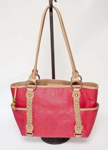 Giani Bernini Beaded Pull Shoulder Bag