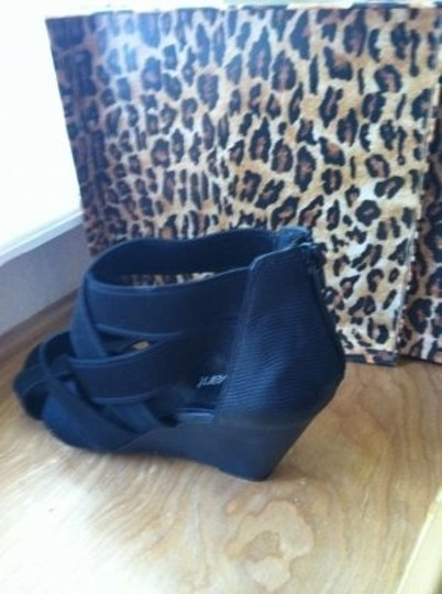 Lane Bryant black Wedges