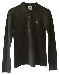 Lacoste Button Down Shirt Green