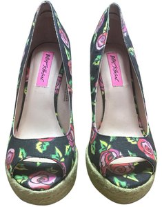 Betsey Johnson Multi Wedges