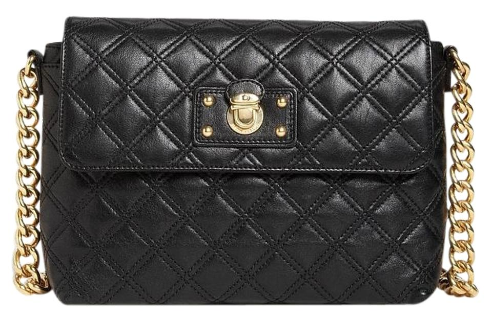 72eb29a59f77 Marc Jacobs Quilted Gold Leather Chain Shoulder Bag Image 0 ...
