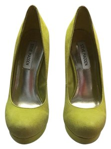 Steve Madden Green/yellow Platforms