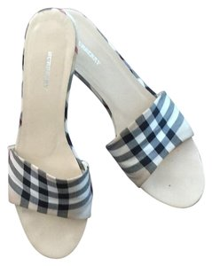 Burberry Plaid Mules