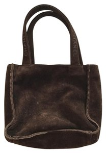Chanel Le Boy Cavier Speedy Keepall Tote in Brown