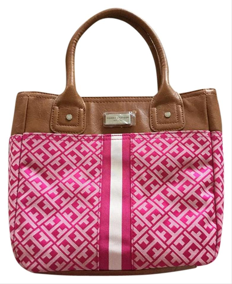 ca99e0b84 Tommy Hilfiger Beach Louis Vuitton Chanel Prada Gucci Tote in Pink Image 0  ...