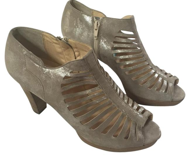 Item - Taupe/Silver Boots/Booties Size US 8.5 Regular (M, B)