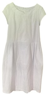 Lunn short dress White French Drop Waist on Tradesy