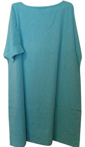 J. Jill short dress Crystal Blue T-shirt Cotton on Tradesy