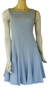 Calvin Klein short dress Pale Blue Sleeveless Lined on Tradesy