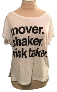 Urban Outfitters Graphic Cotton T Shirt White