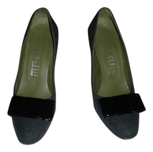 Anne Klein Gray Flannel Pumps