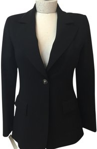 Chanel Lightweight Wool Summer Black Blazer