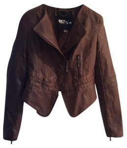 The Fillmore brown Leather Jacket
