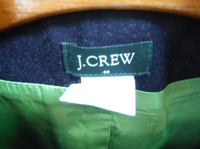 J.Crew Pea Double Breasted Gold Buttons Classic Preppy Coat