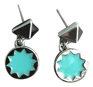 House of Harlow 1960 House of Harlow 1960 Sunburst Drop Earrings in Turquoise