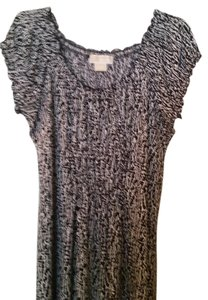 Michael Kors short dress Black and White Knit on Tradesy