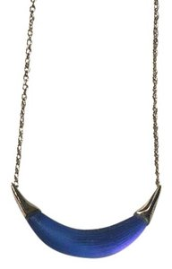 Alexis Bittar Lucite Cresent Necklace