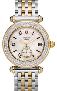 Michele NEW Caber Diamond Two Tone MWW16A01D1025