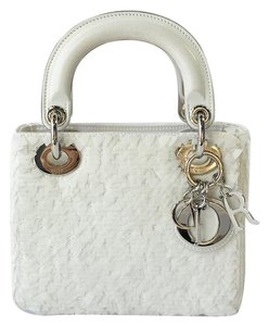 Dior Lambskin Sequin Lady Shoulder Bag