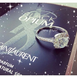 9.2.5 Size 4 5 6 7 8 9 Bridal Engagement Wedding Cz S925 Sterling Silver 1.5 Carat Diamond Ring Halo Square Cushion Jewelry
