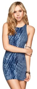 Billabong short dress Blue Tie Dye on Tradesy