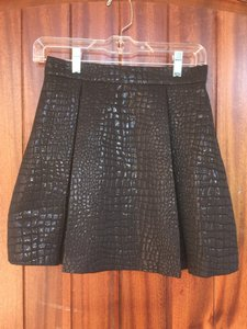 Romeo & Juliet Couture And Free Shipping Mini Skirt Black