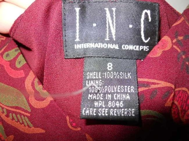 INC International Concepts Silk Dress