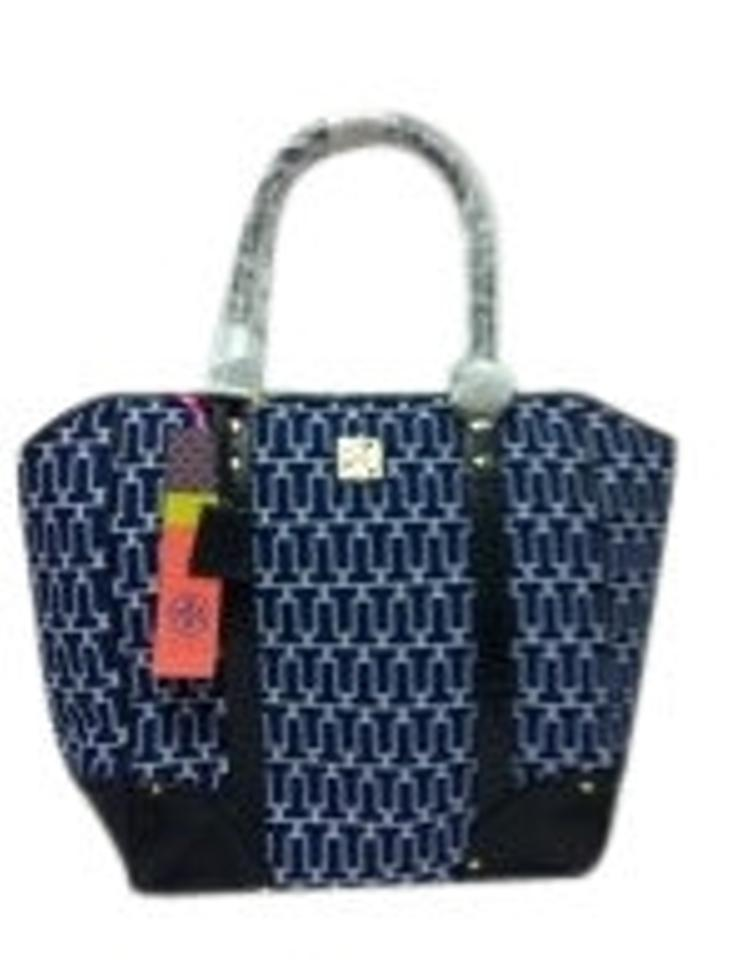 6cbe6773b334 Tory Burch Handbag New New With Tag Tote in Blue Multi Print Image 0 ...