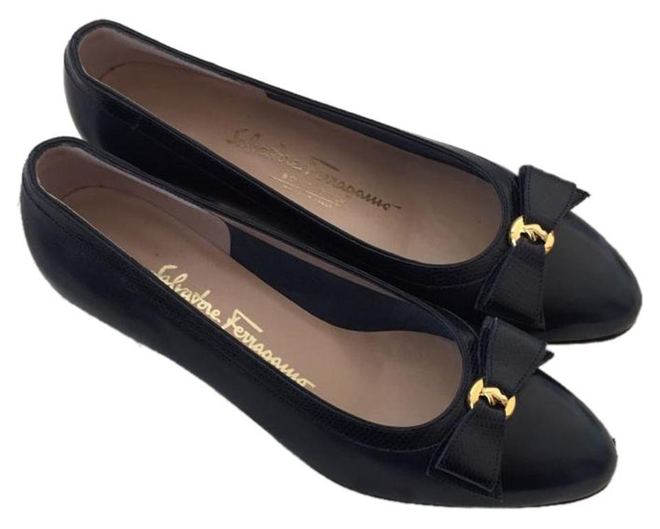 Women's Salvatore Ferragamo Black Pumps Affordable Affordable Pumps 898da6