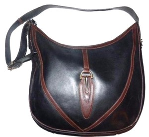 Gucci Leather Bohemian Hobo Bag